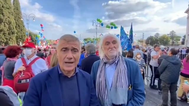 Manifestazione antifascista, Pecoraro Scanio: