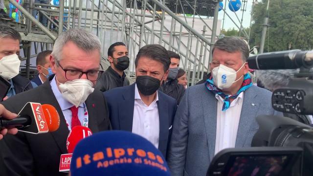 Manifestazione antifascista, Landini: