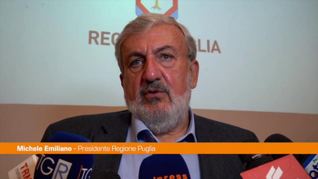 Puglia, Emiliano presenta la guida ai luoghi dell'antifascismo