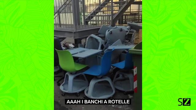 Che fine hanno fatto i banchi a rotelle?