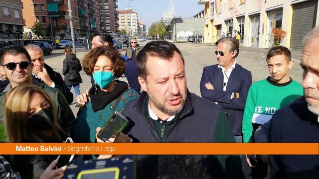Ballottaggio Torino, Salvini