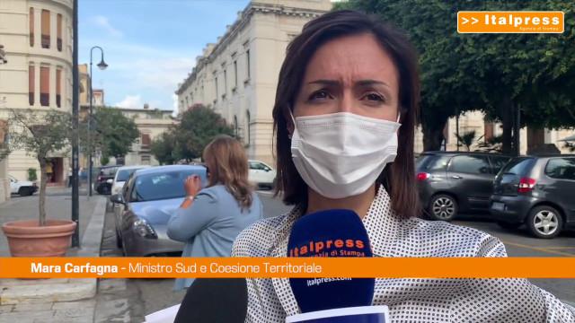"""Carfagna sottoscrive Accordo di Programma Quadro """"Grecanica"""""""