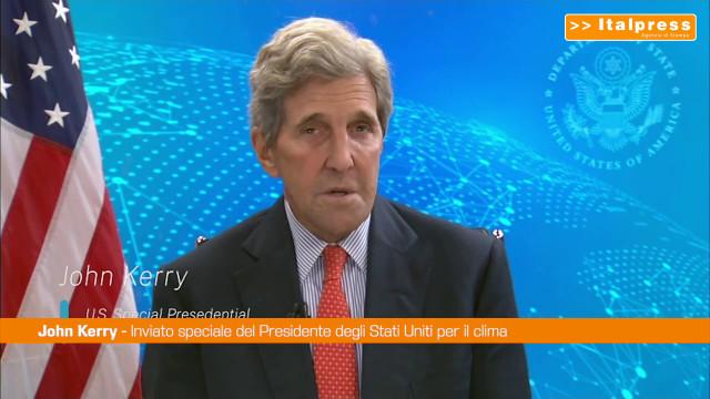 Clima, John Kerry: