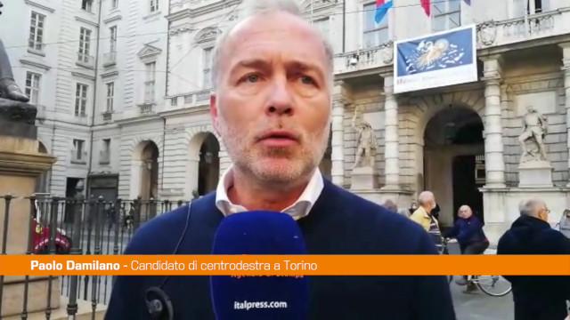 Torino, Damilano:
